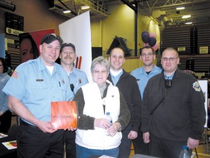 Firefighters at Rockford EXPO