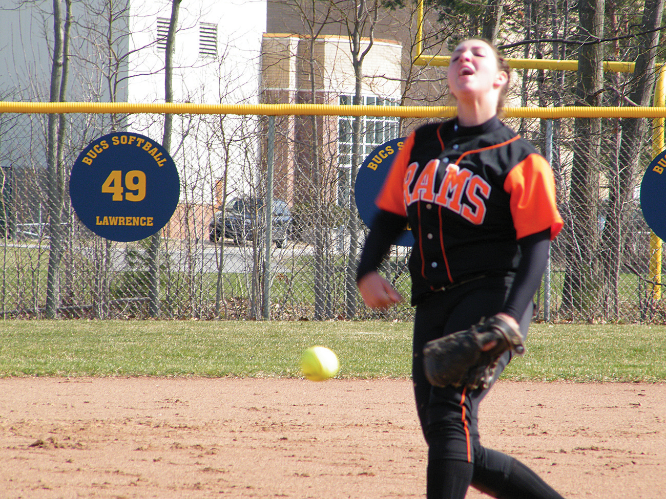 Rockford sophomore pitcher Tricia Graha