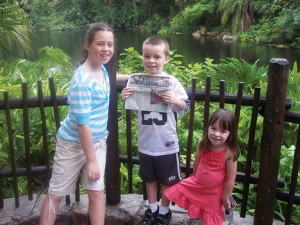 Rockford Squire visits Animal Kingdom