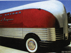 Futurliner after restoration.