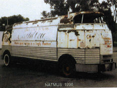 Futurliner before restoration.