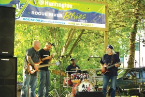 BLUES ON THE RIVER—It's free, it's fantastic. The Huntington Rogue River Blues concert series begins Tuesday, 7 to 9 p.m.