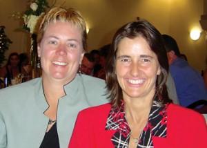 Left to right); Lynda Nance and Robin Martin.