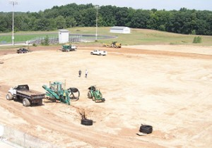 Eleven athletic fields ranging from softball, soccer to football are being constructed for Rockford Public Schools.