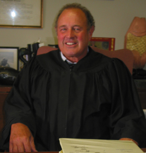 A GOOD FIGHT—Rockford Judge Steve Servaas refused to sign a letter of resignation presented to him under threat of public humiliation.