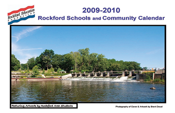 The Rockford Education Foundation Community Events Calendar is available at a school