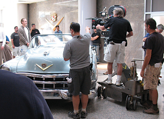 "The 1953 Cadillac Eldorado, ""Zelly,"" is featured in a New Mexico scene of ""My One and Only.""	Photo courtesy of TIM LENON"