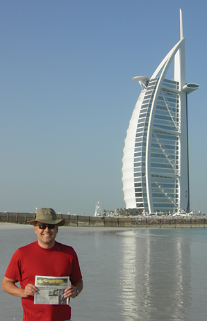 International traveler finds beauty in unusual the for The burg hotel dubai