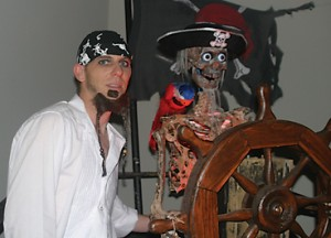 Cory Ackerman thought life as he knew it was over when he was diagnosed with a debilitating brain tumor. He found a new way to apply his old skills when he volunteered to create animatronic props for an American Legion fundraiser.