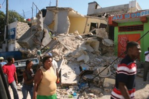 Baptist Haiti Mission volunteers took photos of the devastation,