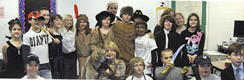 "Valley View's ""famous Americans"" enjoyed a day of living history."