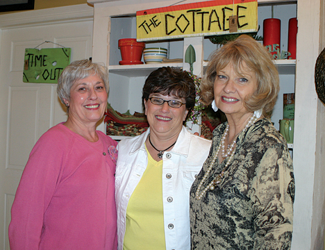 Polly VonEschen, owner of Baskets in the Belfry, has opened her doors wide to fellow merchants Jeanne Hawkins of The Secret Ingredient and Jan Wallace of Right Up Your Alley. Visit all three at 46 Bridge Street, downtown Rockford.