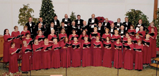 The well-traveled and  acclaimed Metropolitan Choir of Praise is to appear in Rockford Ma
