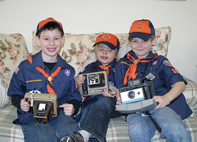The trip to the Rockford Squire newspaper earned a group of three scouts the last badge th