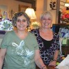 Polly VonEschen is pictured here with long-time coworker and friend Pat Kinney. VonEschen is closing her business, Bask
