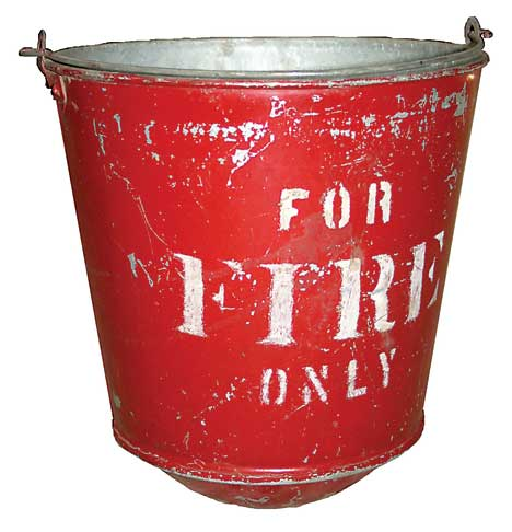 Ram Artifact 5 Fire Bucket The Rockford Squire