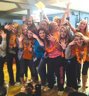 Cheer team charmed at local nail salon the rockford squire for A charmed life nail salon