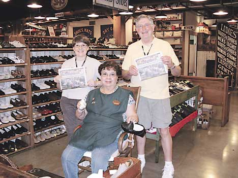 ... Rockford's hometown newspaper, stand alongside Mary Diosdado, one of the original SAS shoemakers. With 36 years of prideful handcrafting of SAS shoes, ...