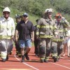 FIRST WALK—The firefighters of Rockford always lead the fi