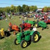 The six winning entrants of the 2012 ACE Hardware Annual Antique Tractor Show are as follows: seated in the foreground Eldie Ellenbaas and (L to R), Todd Si