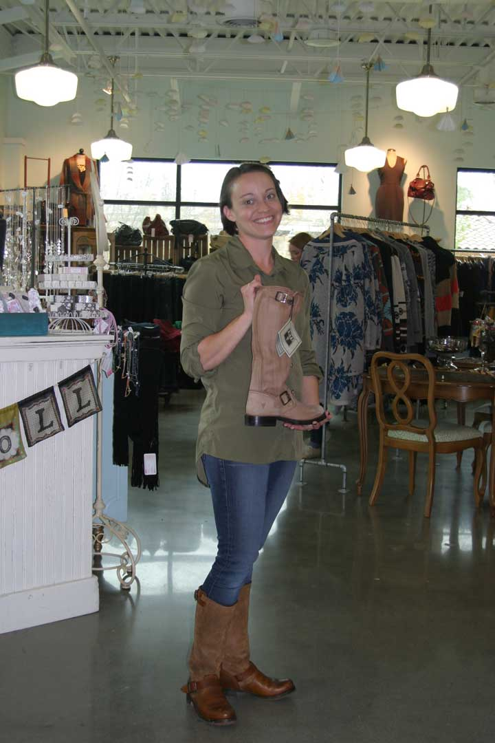 Paperdoll Owner Erica Shows Off Some Of This Seasons Hottest Items Sellingtons Frye Leather Boots