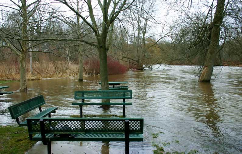 Picket Park, just south of Rockford Dam, taken Saturday. Photo by John Hogan